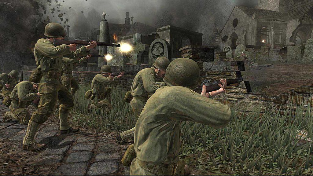 Military video games