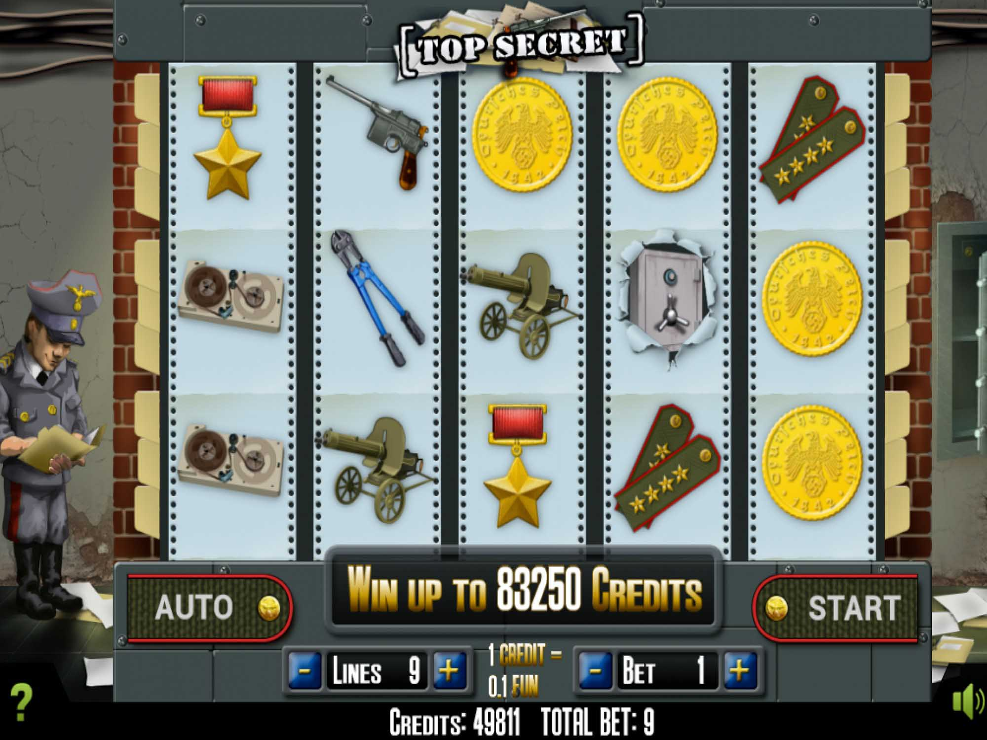 Top Secret slot